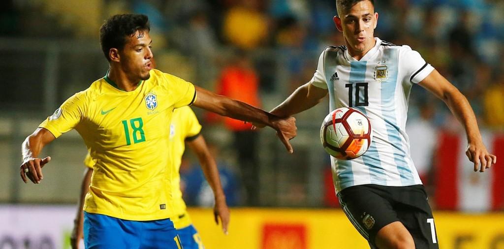 Sudamericano de Chile  Argentina perdió con Brasil y no pudo ser campeón del torneo Sub 20
