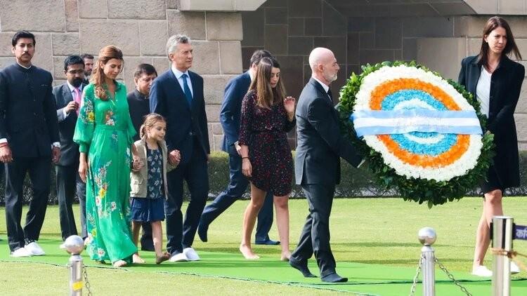 Macri comenzó su visita oficial a la India