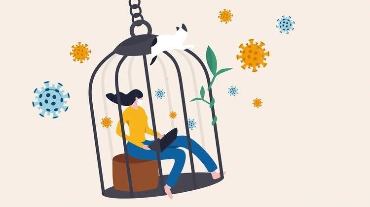 La paradoja de la cuarentena: la culpa de los que disfrutan de estar en su casa