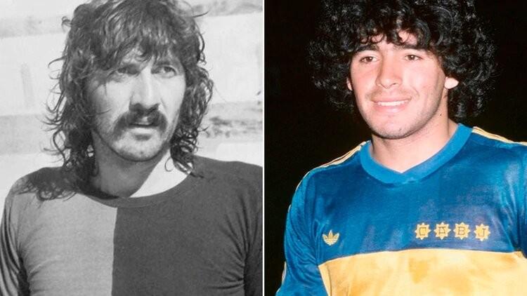"""El día que el Trinche Carlovich le dijo """"no"""" al Boca de Maradona"""