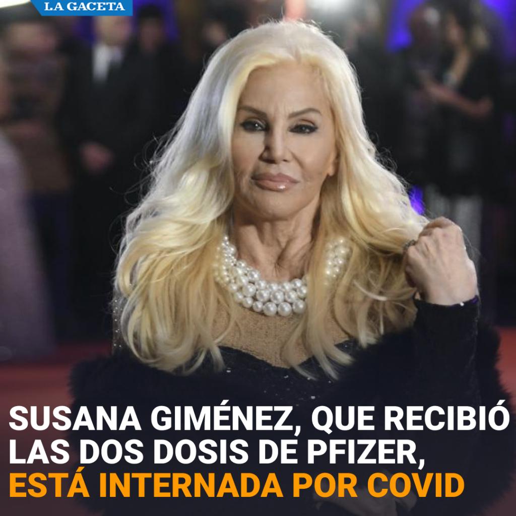 LA DIVA ARGENTINA SE ENCUENTRA EN UN SANATORIO DE PUNTA DEL ESTE