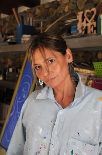 La artista Mily Repetto inaugura la muestra Mujeres inspiradoras
