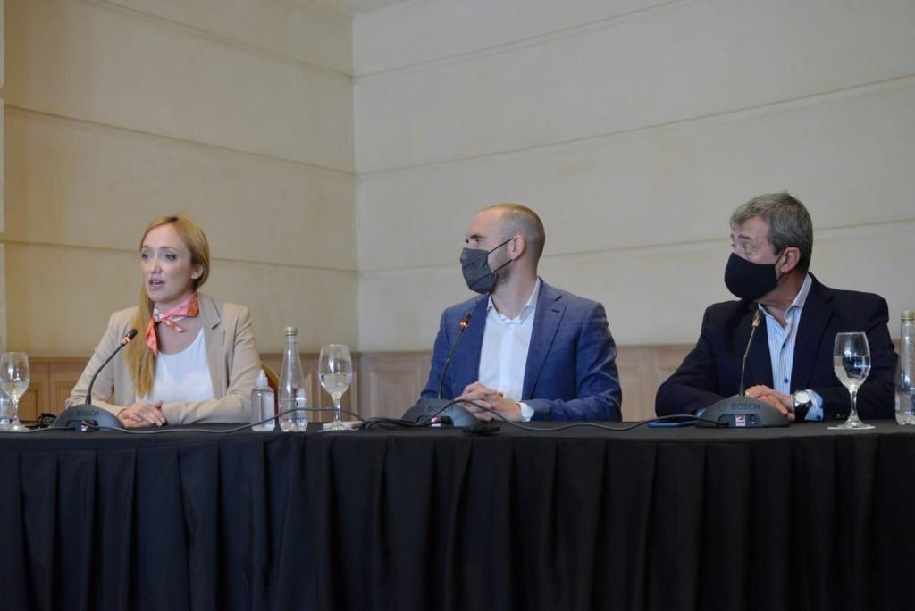 """Guzmán en Mendoza: """"La economía argentina está atravesando un proceso de recuperación sólida"""""""