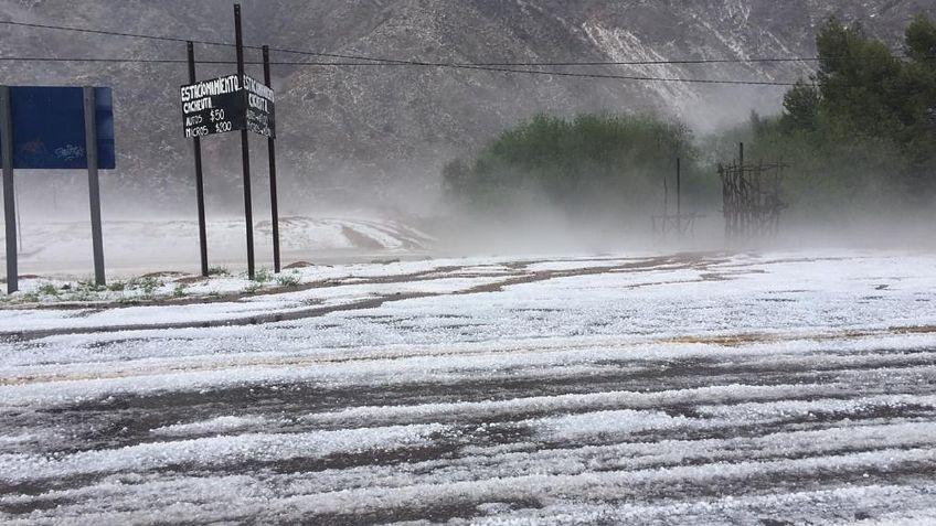 Alerta meteorológico para Mendoza: tormentas fuertes y granizo