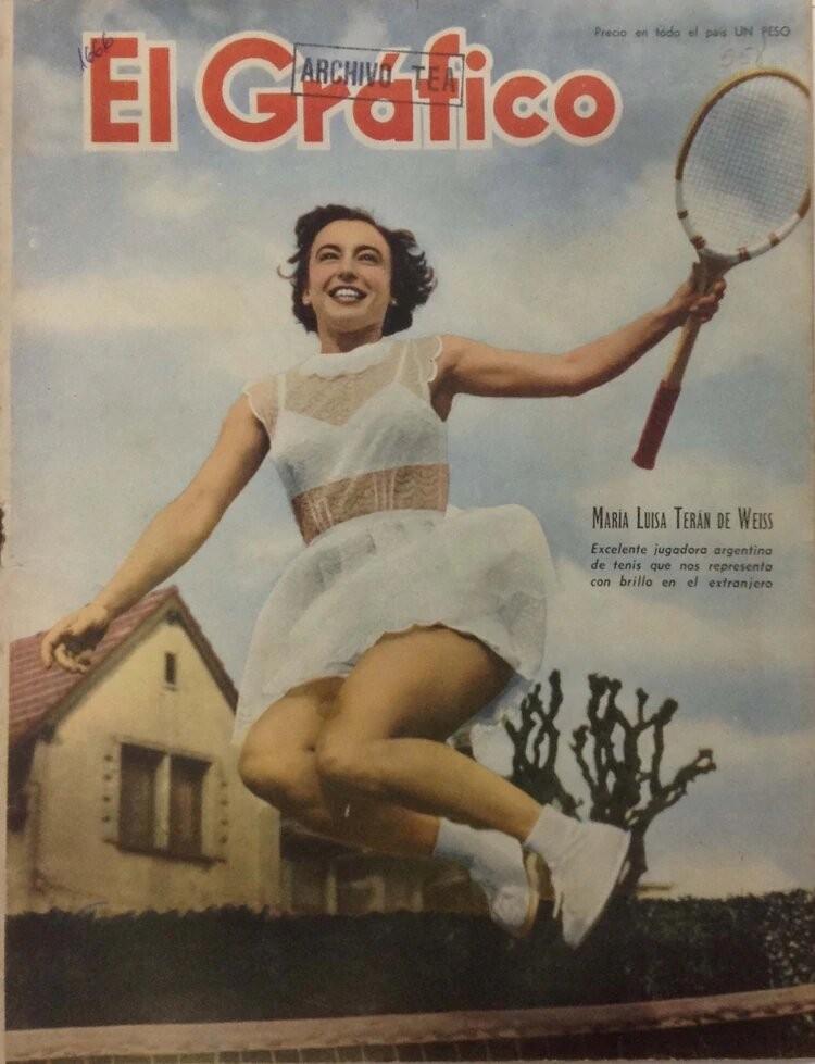 La tenista olvidada que encandiló a Perón