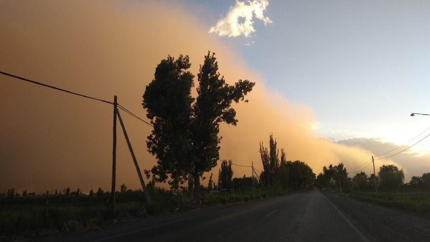 Impresionantes imágenes del viento que azotó Mendoza